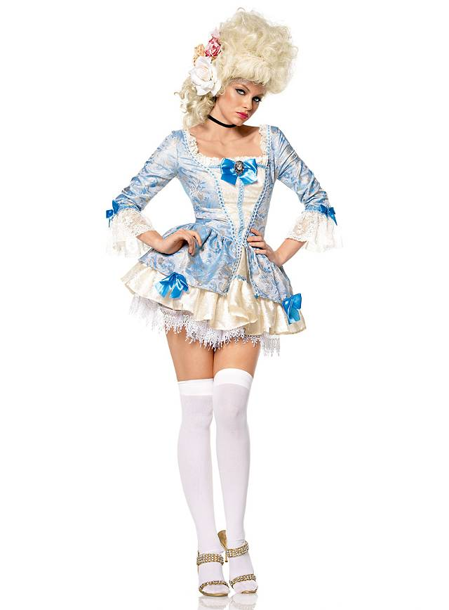 Lady Marie costume baby blue Costume