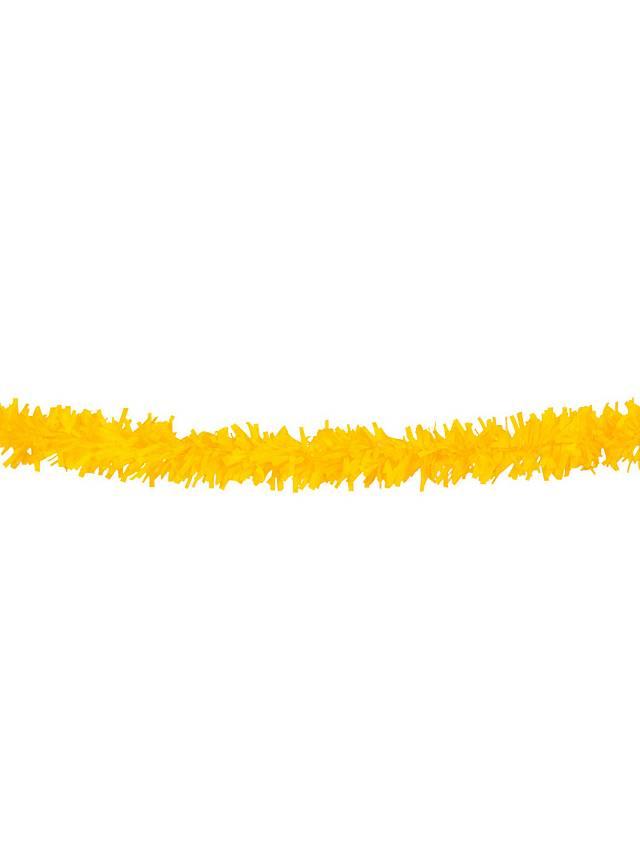 Lametta Girlande 10 Meter gelb
