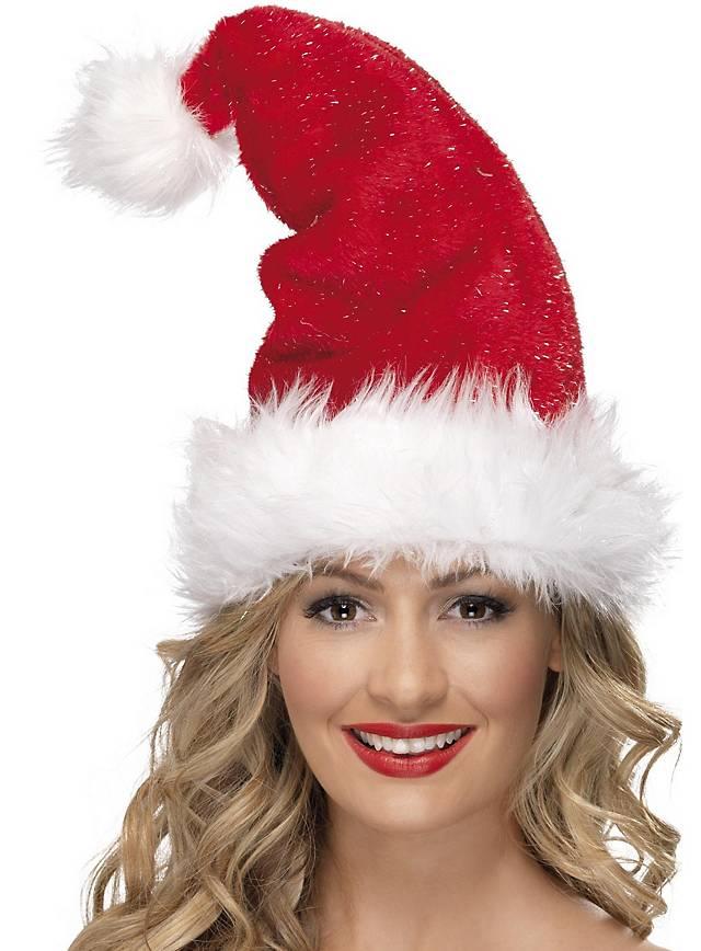 Lametta Weihnachtsmütze