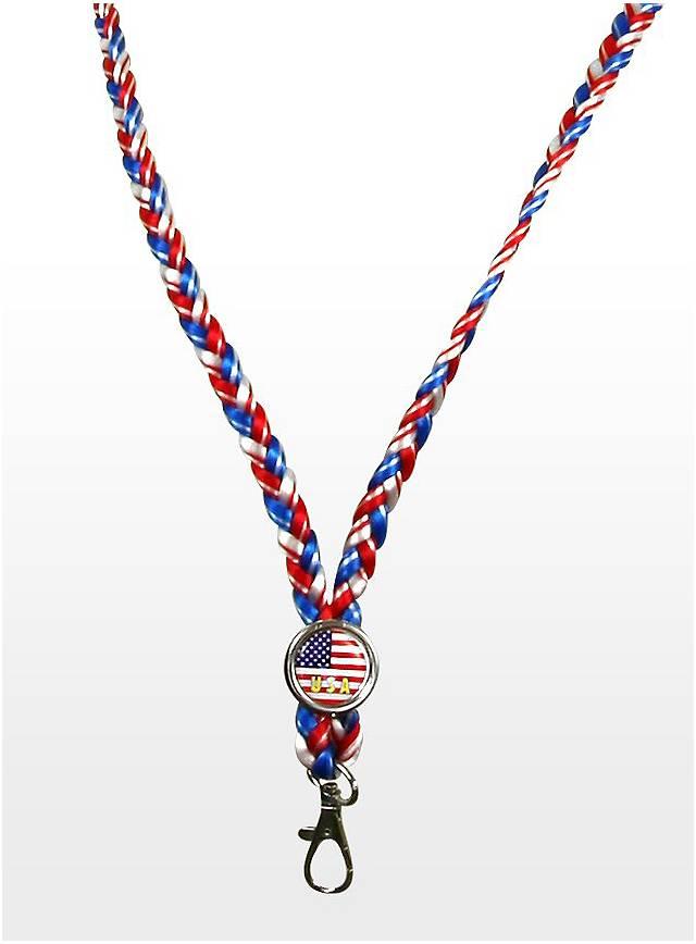 Lanyard Keychain USA