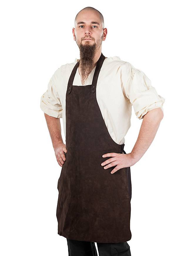 Leather Apron - Smith brown