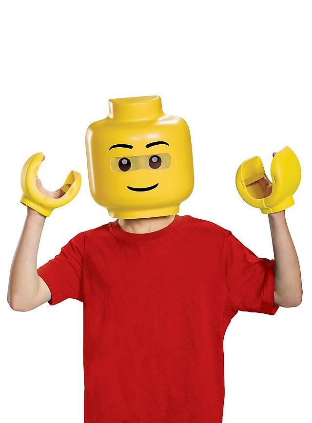 Lego Figur Maske und Hände für Kinder