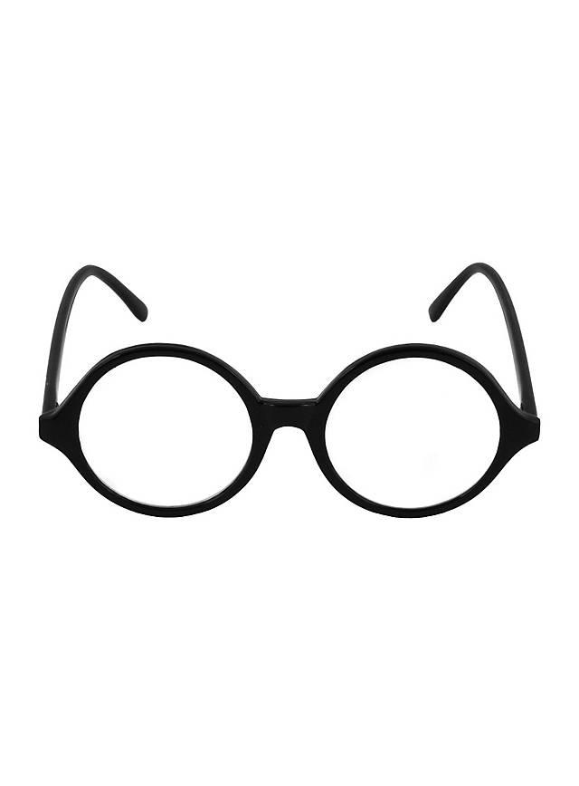 Lehrer-Brille schwarz