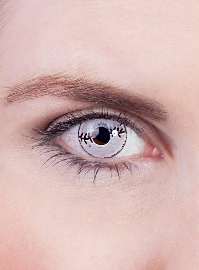 Lentilles de contact cicatrice
