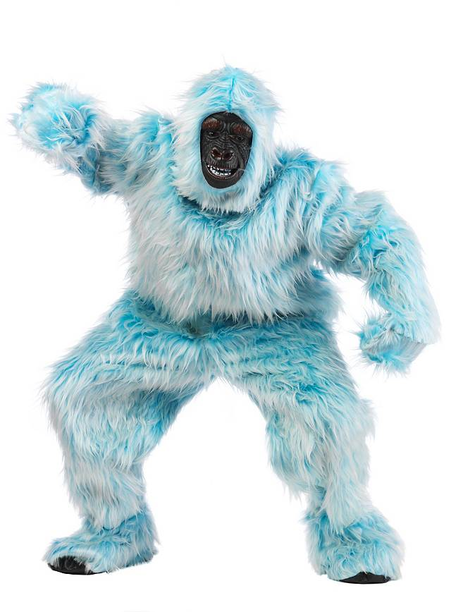 Light Blue Gorilla Costume