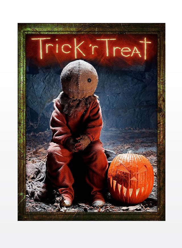 "Light Effect ""Trick 'r Treat"" Poster"