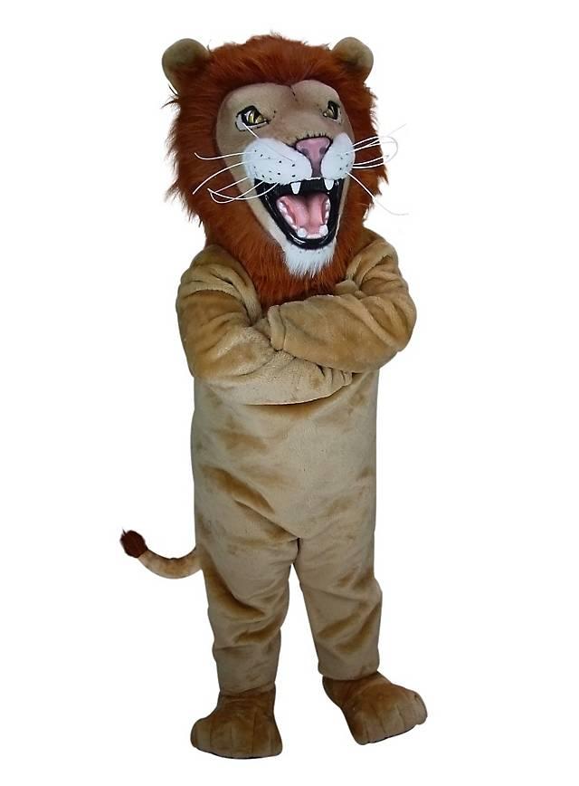 Lion africain Mascotte