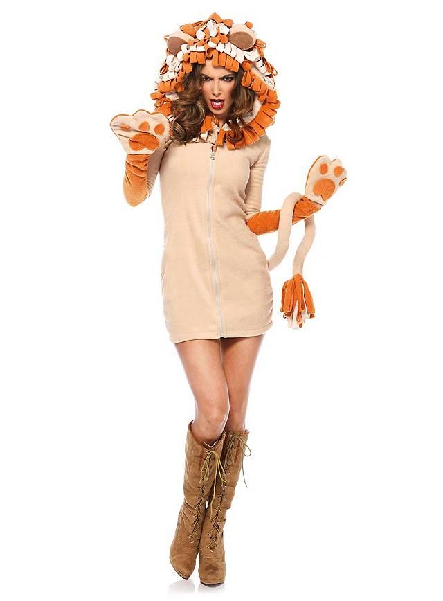 Löwe Hoodie Dress
