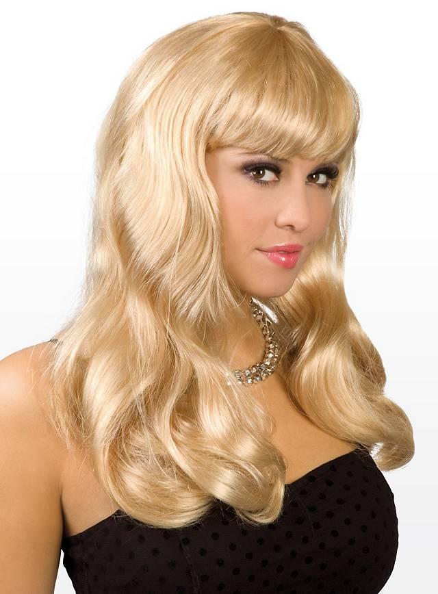 Long Hair blond Wig