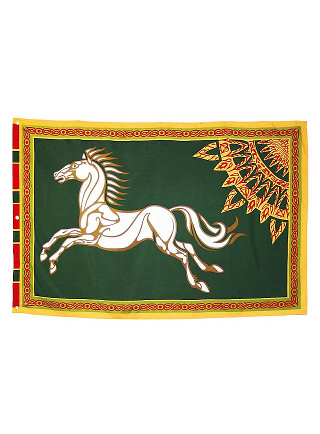 Lord of the Rings Rohirrim Flag