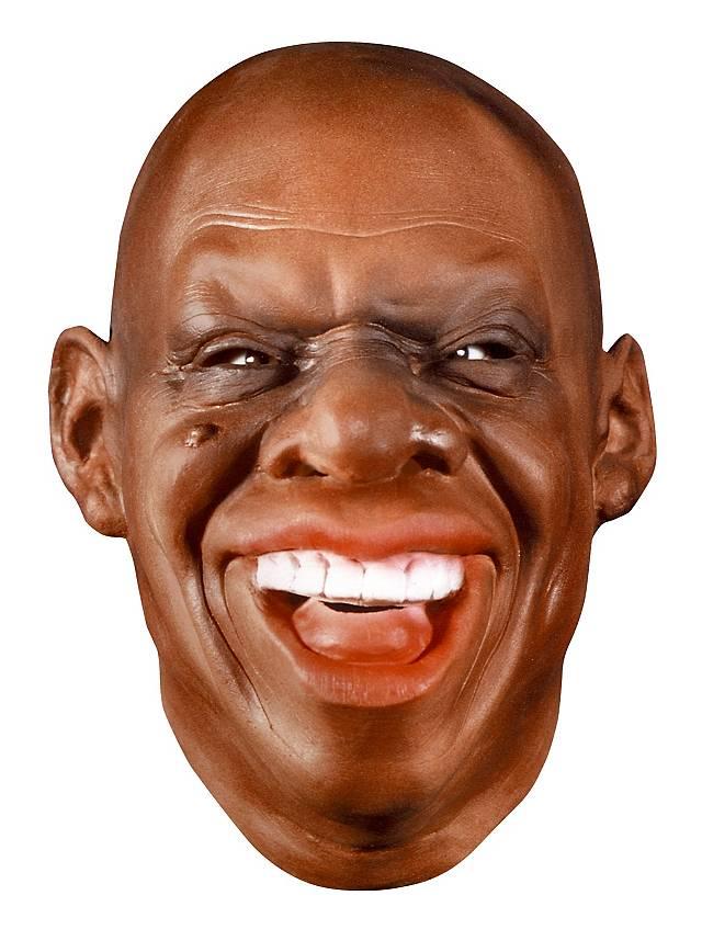 Louis Armstrong Maske aus Schaumlatex