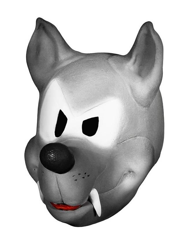 Loup comique Masque en mousse de latex