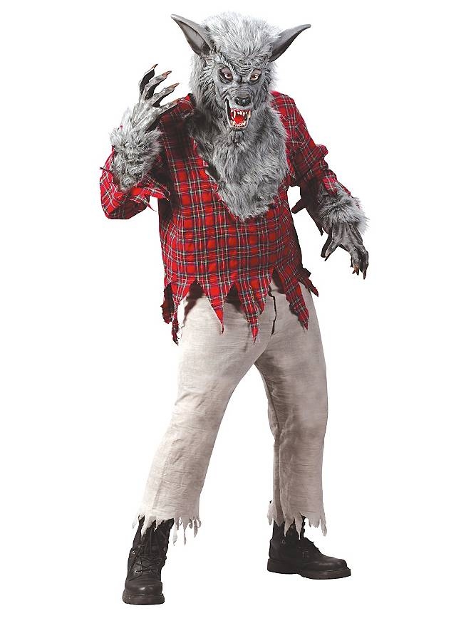 Loup garou gris Déguisement
