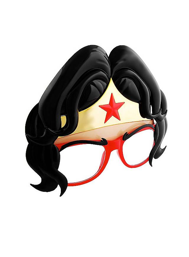 Lunettes fantaisie Sun-Staches masque Wonder Woman