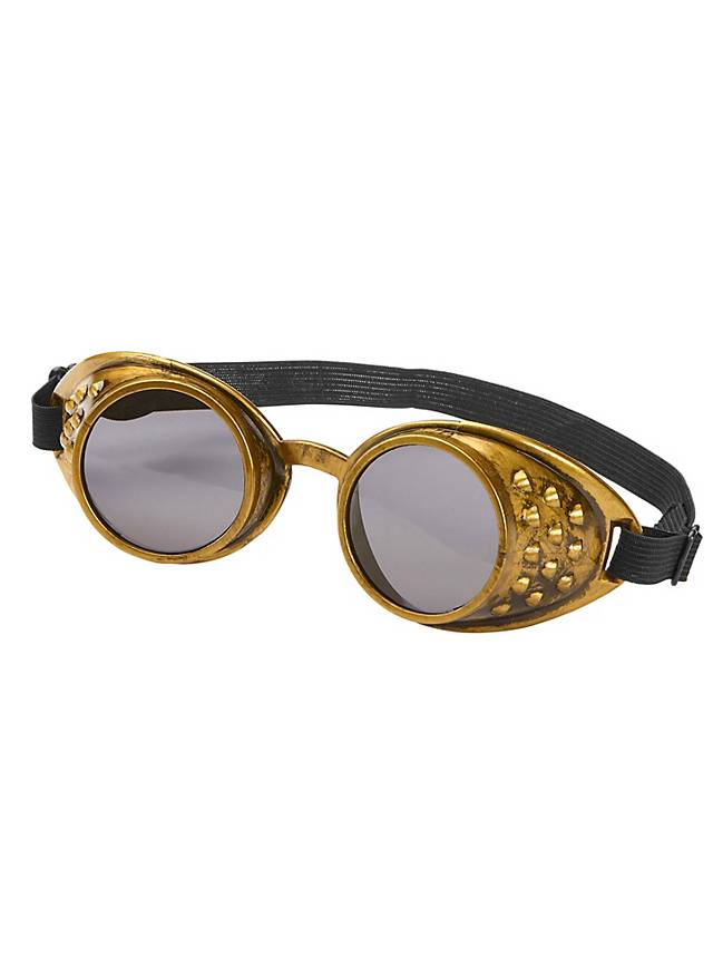 Lunettes steampunk simples bronze