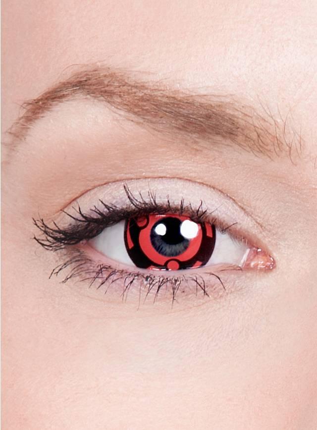 Madaras Mangekyo Sharingan Effect Contact Lenses