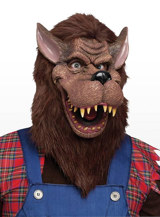 Märchenwolf Maske aus Latex
