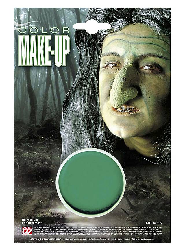 Make-Up Foundation green