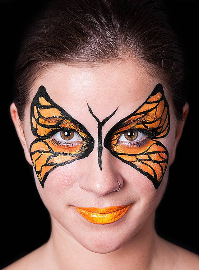 Make Up Set Schmetterling Karneval Schminkset Maskworld Com