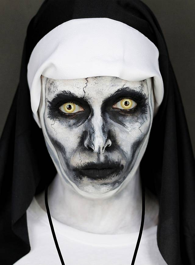 Make Up Set Valak Nonne Halloween Schminkset Maskworld Com