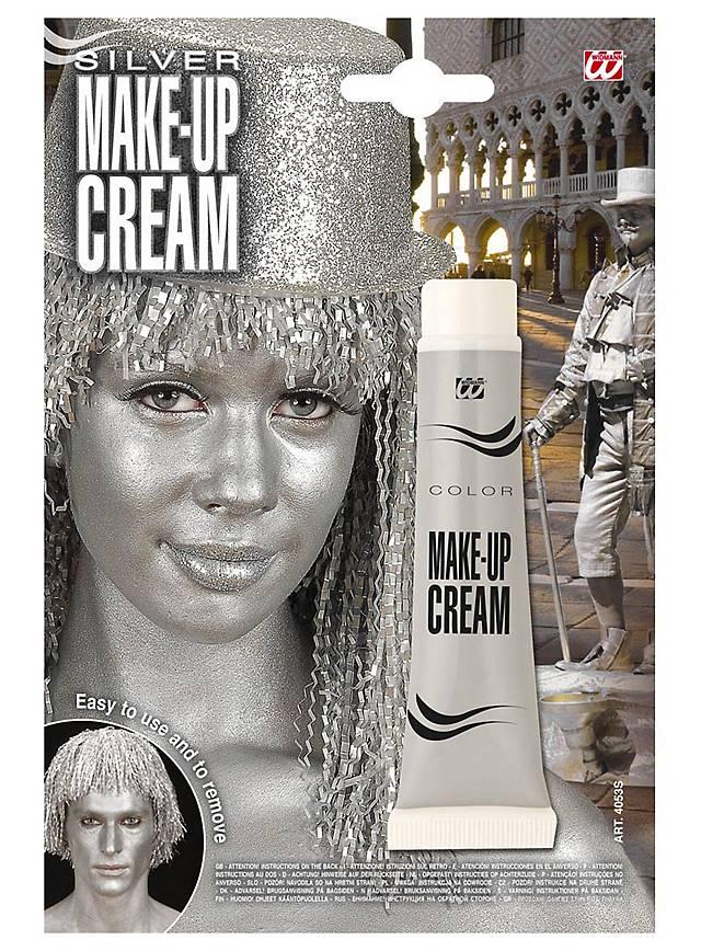 Make-up Tube silber