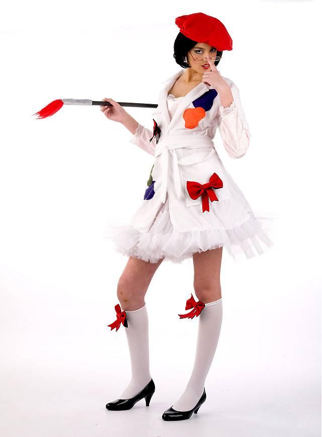Malerin Kostüm
