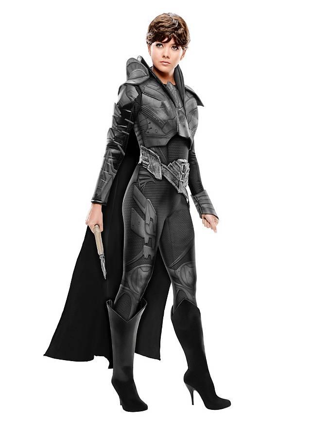 Man of Steel Faora mit Rüstung Kostüm