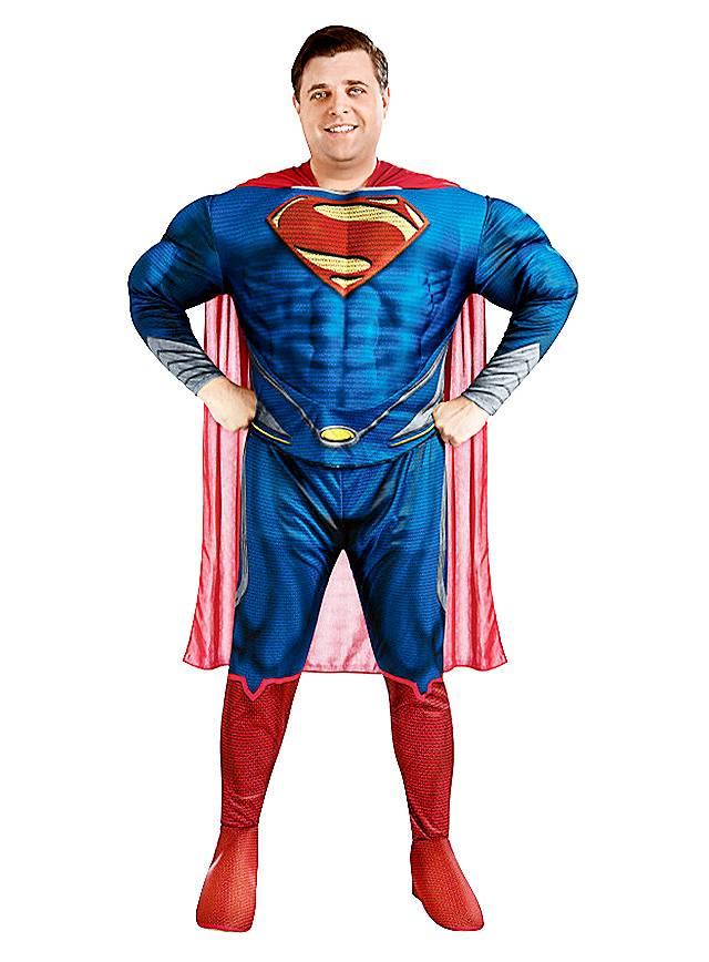 man of steel superman deluxe kost m. Black Bedroom Furniture Sets. Home Design Ideas
