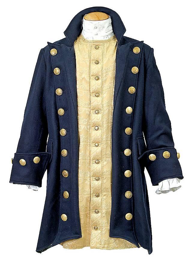 Manteau de pirate bleu