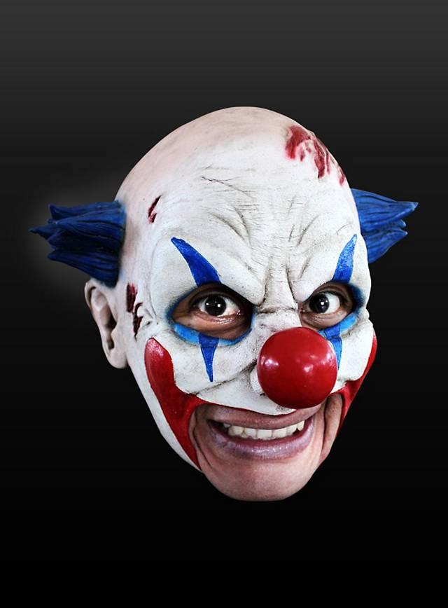 Masque de clown sans menton en latex