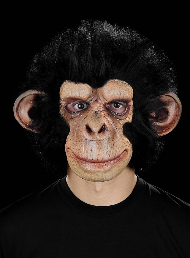 Masque de singe chimpanzé sympa en latex