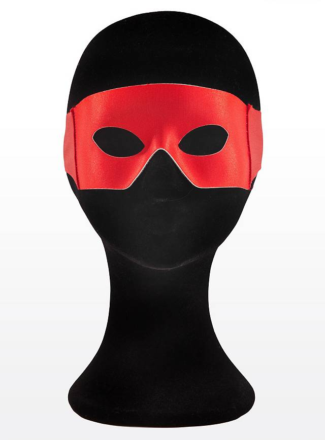 Masque de super-héros rouge