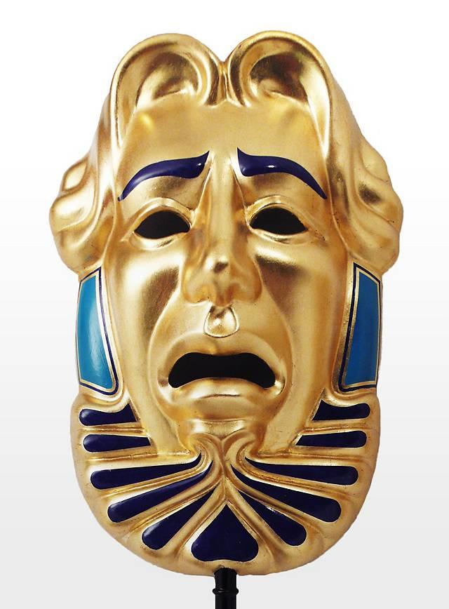 Masque de tragédie Masque à bâton Commedia dell'arte