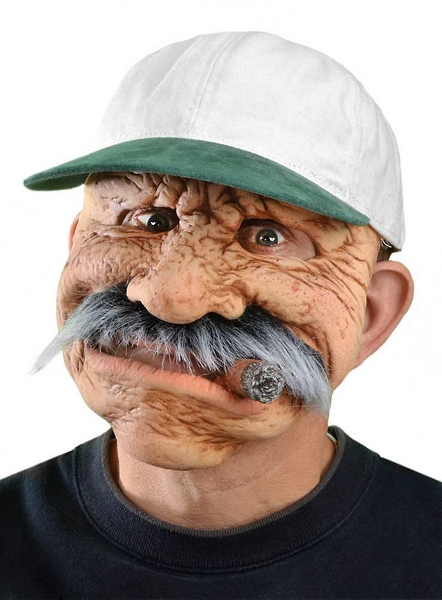 Masque d'oncle Esteban en latex