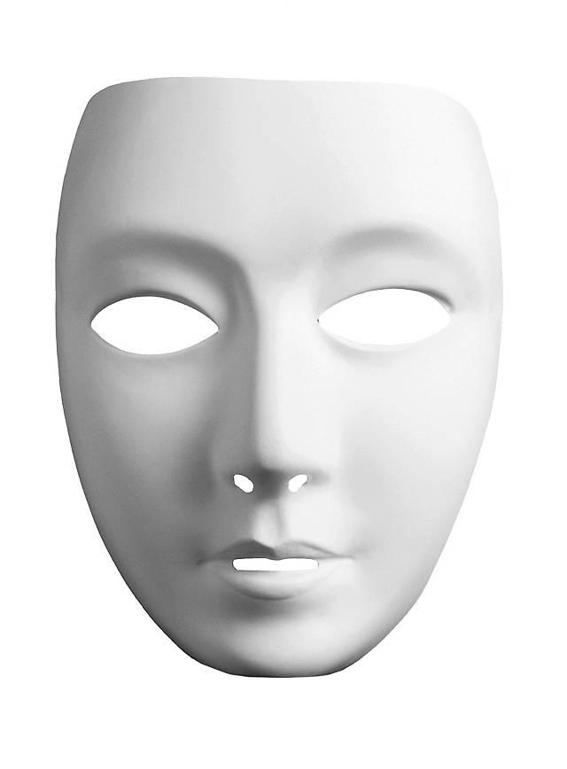 Masque neutre de visage de femme
