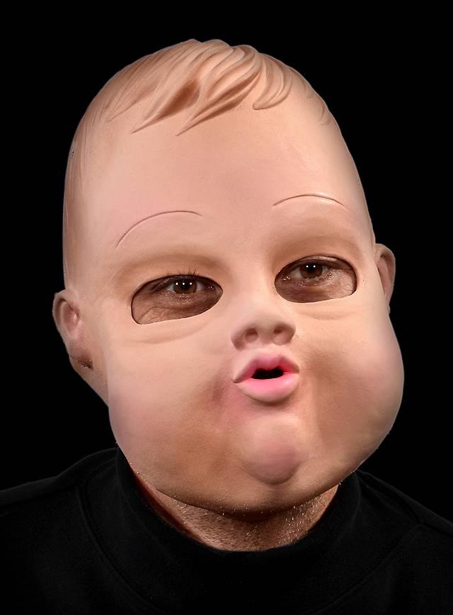 Masque tête de poupée