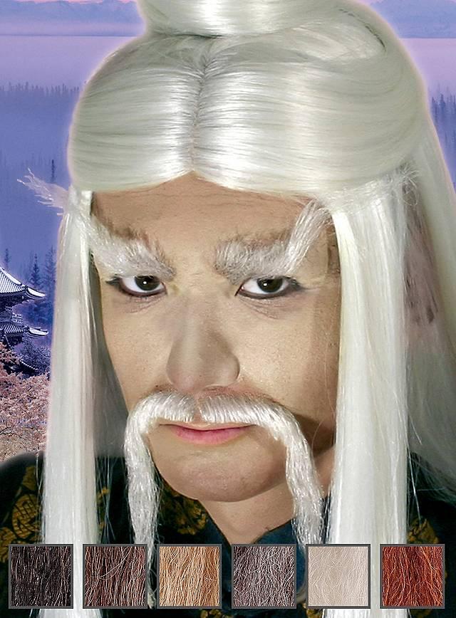 Master Lee Professioneller Oberlippenbart aus Echthaar
