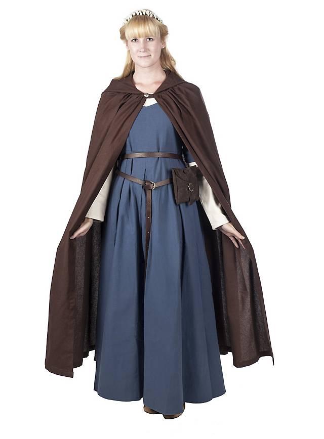 Cloak with hood, short - Gordion