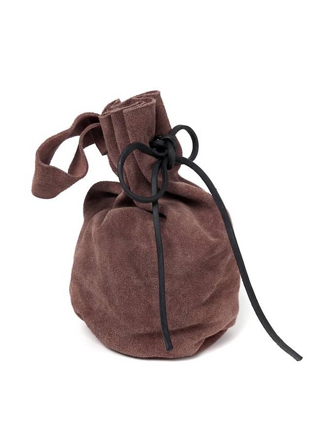Medieval Pouch Suede dark brown