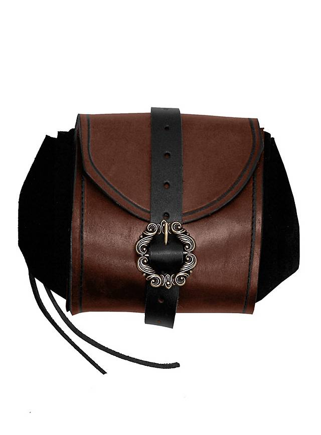 Merchant Leather Pouch brown