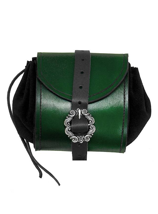 Merchant Leather Pouch green