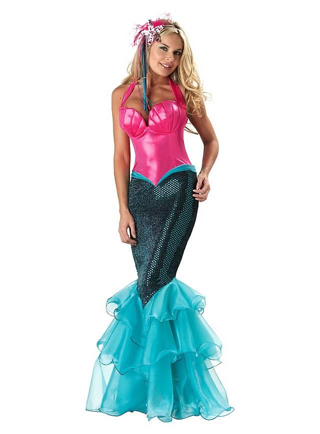 Meerjungfrau Kostüm - der Trend für Faschingskostüme 2017