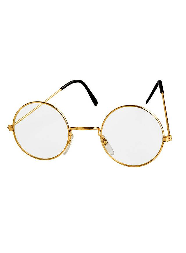 Metal-Rimmed Glasses gold
