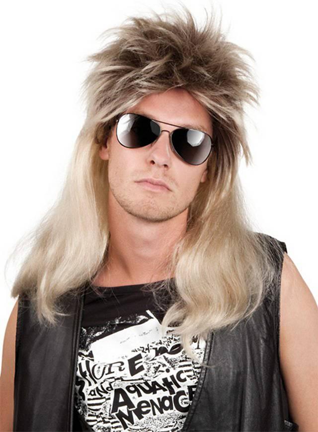 Metal Rocker Wig