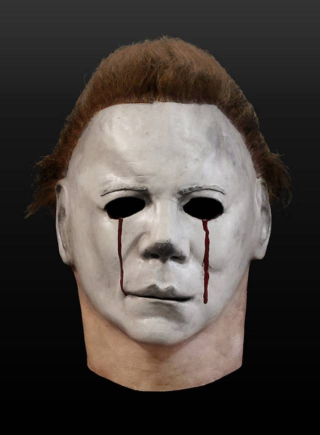 how to make a michael myers mask out of paper