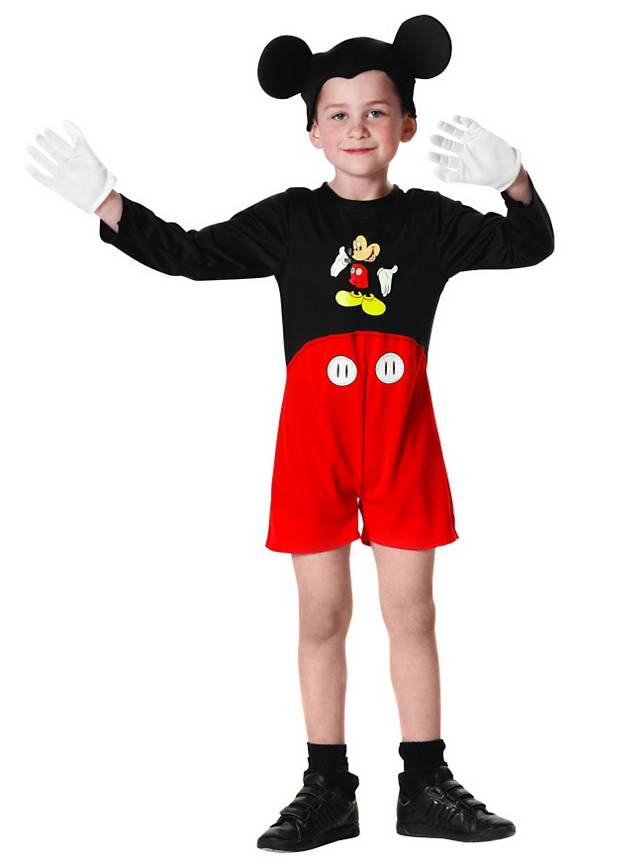 mickey mouse kids costume. Black Bedroom Furniture Sets. Home Design Ideas