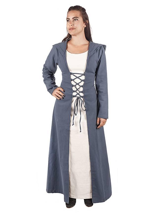 Mittelalter Kleid mit Kapuze - Hestia