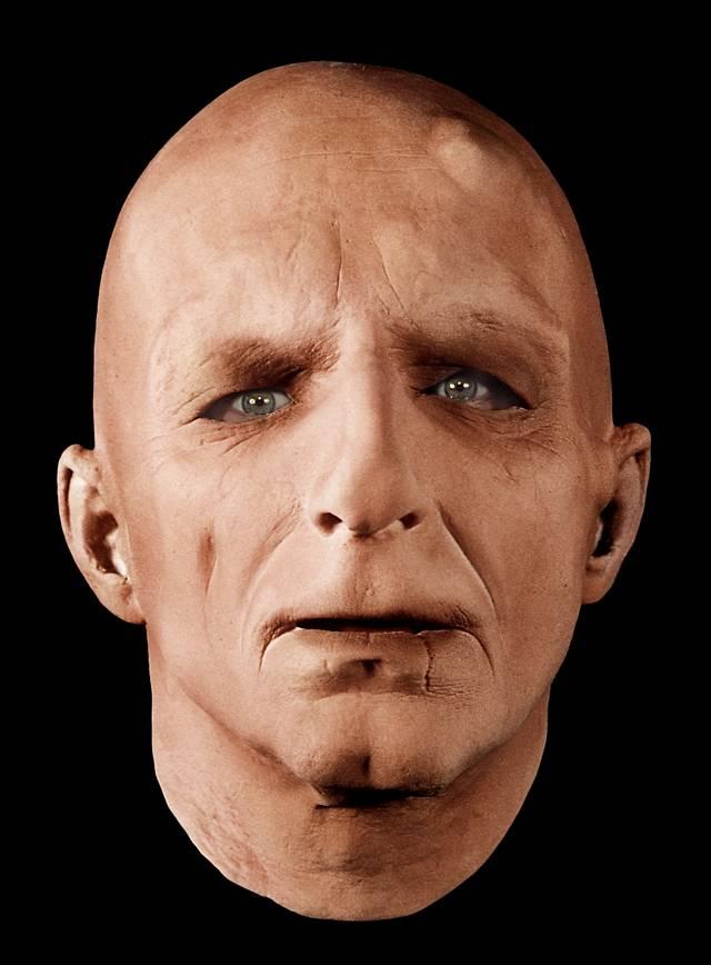 Rubber face mask celebrity baby