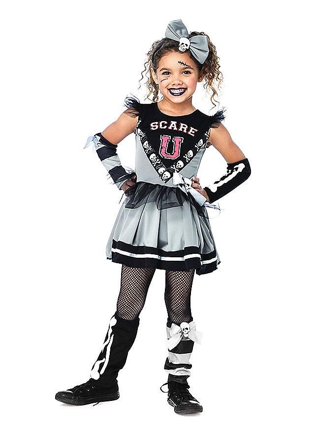Monster Cheerleader Kostüm für Kinder