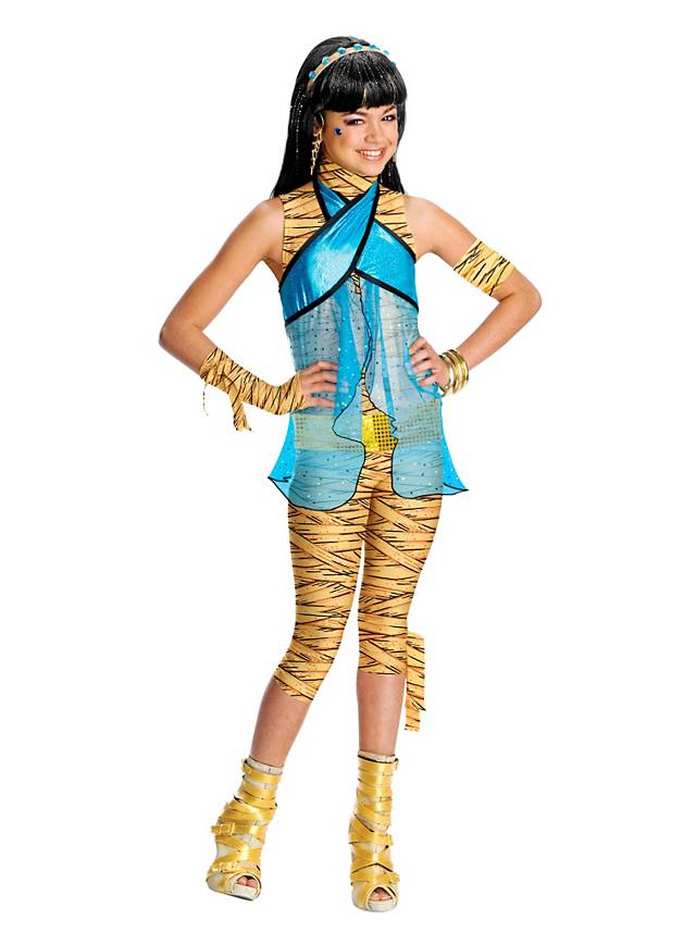 Monster high cleo de nile kinderkost m - Masque monster high ...